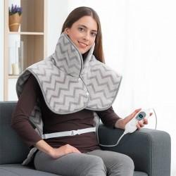 InnovaGoods elektromos melegítő pléd nyakra és vállra - 60 x 90 cm - 100 W