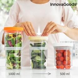 InnovaGoods állítható uzsonnás dobozok - 3 db