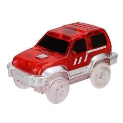Autó világító autópályához - szélesség 7 cm - piros