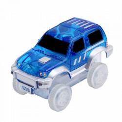 Autó világító autópályához - szélesség 7 cm - kék