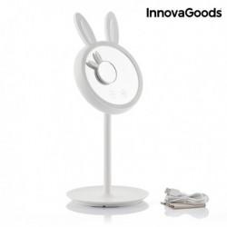 InnovaGoods Mirrobbit LED érintős tükör sminkelésre 2 az 1-ben