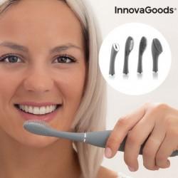Szilikonos szónikus fogkefe tartozékokkal Klinfor - InnovaGoods