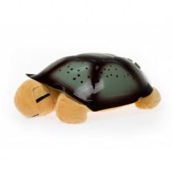 Csillag projektor - mágikus teknős - zenél - barna