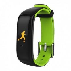 Brigmton BSport-15-V fitness karkötő - 0,96 - OLED - zöld - Bluetooth 4.0 - IP67