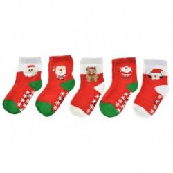 Gyerek zoknik csúszásgátló talppal - több motívum - 5 pár - Auravia