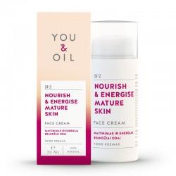 YOU & OIL arckrém - energia az érett bőrnek - 30 ml