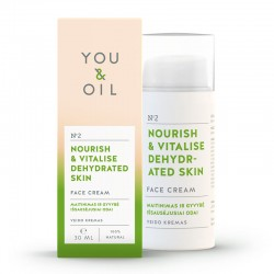 YOU & OIL arckrém száraz bőrre - 30 ml
