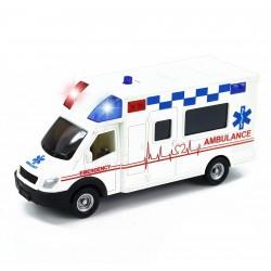 Rappa mentőautó fény- és hanghatással