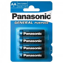 Panasonic - General Purpose R6BE/4BP - 4x AA elem,1,5V - bliszter csomagolás