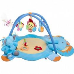 Játék takaró zenével - bébi elefánt játékkal - PlayTo