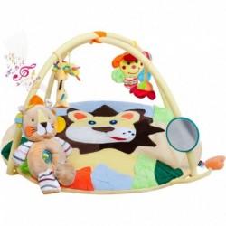 Játék takaró zenével - oroszlán kölyök, játékkal - PlayTo