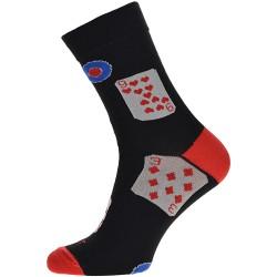 WiTSocks unisex zokni - Kártyamintás
