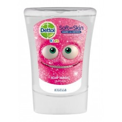 Dettol utántöltő Dettol Kids érintésmentes folyékonyszappan adagolóba - Szappanvarázsló - kamilla - 250 ml