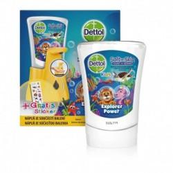 Dettol Kids érintés nélküli kézmosó adagoló - ZOO - 250 ml