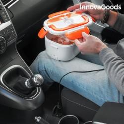 InnovaGoods melegítő ételhordó autóba - 40 W - 12 V - fehér-narancssárga