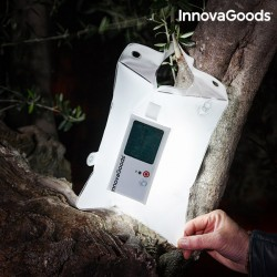 InnovaGoods felfújható napelemes párna LED-del