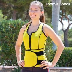 InnovaGoods női sport húzózsinóros mellény szauna hatással