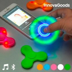 InnovaGoods LED fidget spinner Bluetooth hangszóróval