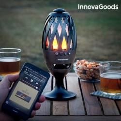 InnovaGoods LED fáklya Bluetooth hangszóróval