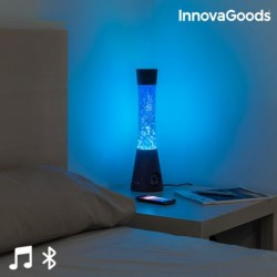InnovaGoods lávalámpa Bluetooth hangszóróval és mikrofonnal