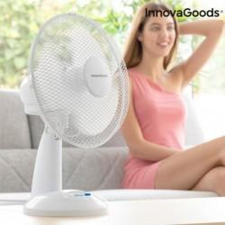 InnovaGoods asztali ventilátor - 35 W - fehér
