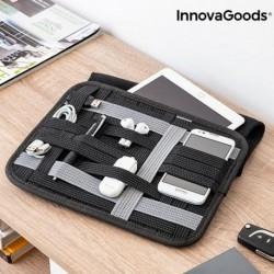 InnovaGoods Flexi·Case tok tabletre rendezővel kiegészítőkre