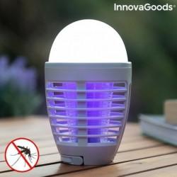 InnovaGoods Kl Bulb 2in1 tölthető rovarriasztó lámpa LED-del