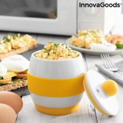 InnovaGoods Eggsira kerámia tojásfőző mikrohullámú sütőbe