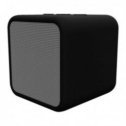 Kubic Box vezeték nélküli Bluetooth hangszóró - 300 mAh - 5 W - fekete