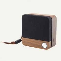 Eco Speak vezeték nélküli Bluetooth hangszóró - 400 mAh - 3.5 W - fa