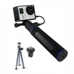 Szelfibot powerbankkel akciókamerához - 5200 mAh - fekete