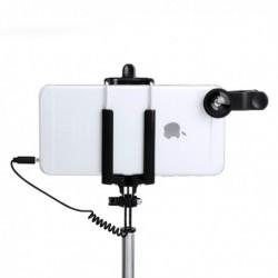 Selfie rúd készlet további lencsékkel - 5 db - 144940 - fekete