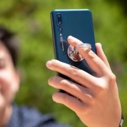 Telefontartó - finger ring - 146270 - ezüst