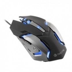 NGS gamer egér LED-del GMX-100 - 2400 DPI - fekete