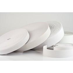 Befűző gumi - rugalmas - fehér - 200 x 2 cm