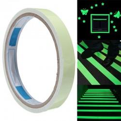 Fluoreszkáló jelölőszalag - 2,9 m - zöld