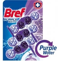 Bref Blue Aktiv WC illatosító golyók - Levendula - 3 db