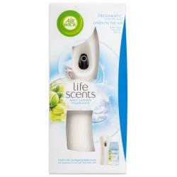 Air Wick légfrissítő + utántöltő - Freshmatic - Mosott ruha a szellőben - 250 ml - fehér