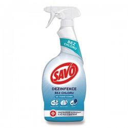 Savo klórmentes fertőtlenítő - vízkőre - 700 ml