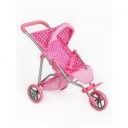 PlayTo Olivie sportbabakocsi - világos rózsaszín