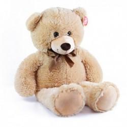 Rappa Bono nagy plüss medve - 80 cm - világos