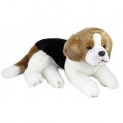 Rappa plüss kuty - beagle - fekvő - 38 cm