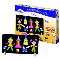 Rappa mágneses puzzle gyerekeknek