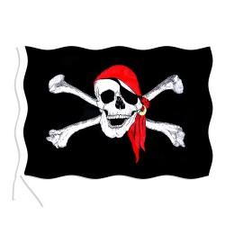 Rappa kalóz zászló - 90 x 150 cm