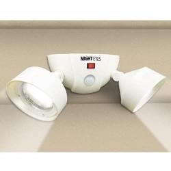 Érzékelős kültéri LED lámpa – dupla – fehér