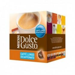 Nescafé Dolce Gusto kapszulák - Caffè Lungo Decaffeinato - 16 db