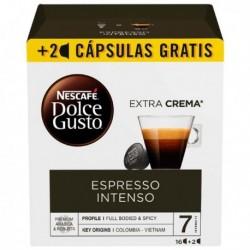Nescafé Dolce Gusto kapszulák - Espresso intenso - 18 db