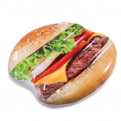 Intex felfújható matrac - hamburger