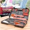 InnovaGoods barbecue bőrönd - 18 részes