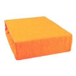 Frottír lepedő - Narancssárga
